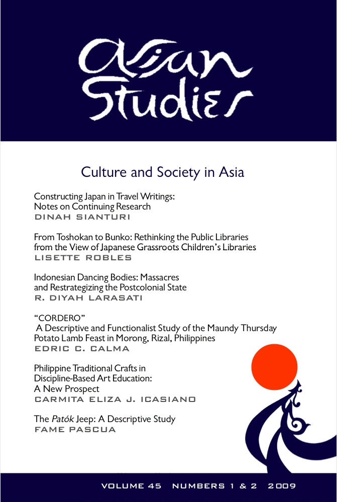Asian-Studies-Volume-45-Cover